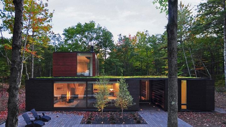 Pleated House Winsconsin