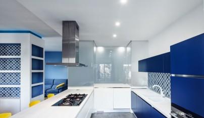 Prismatic Blue Apartment7