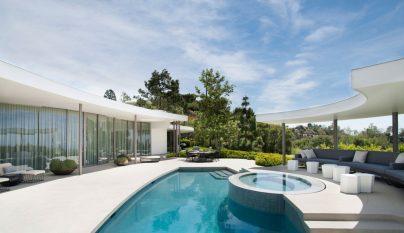 Trousdale Estates Contemporary Home4