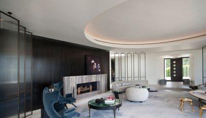 Trousdale Estates Contemporary Home7