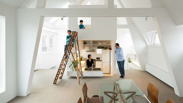 Apartment in Amsterdam Mamm Design