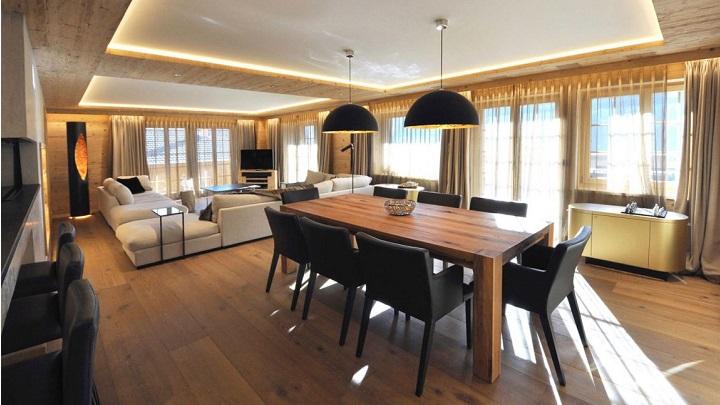 Apartment Rougemont Suiza