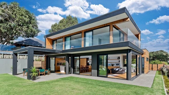 Rothesay Bay House Nueva Zelanda1
