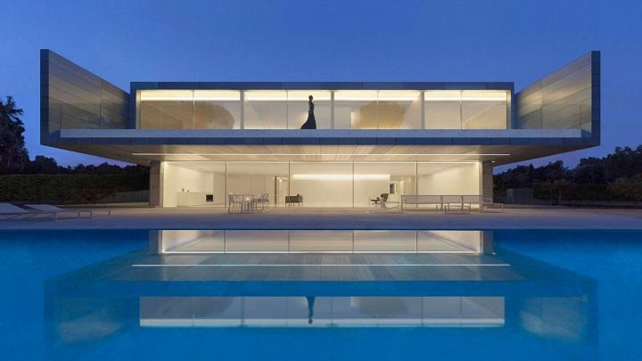 Casa de Aluminio foto
