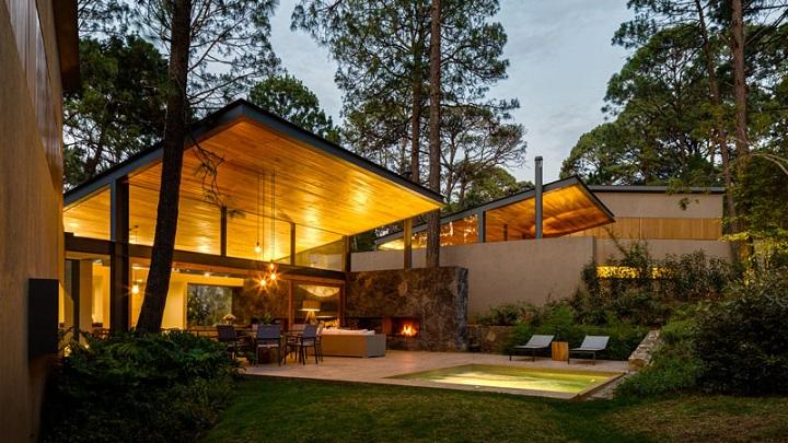 Decoarq arquitectura decorativa - Casitas en el bosque ...