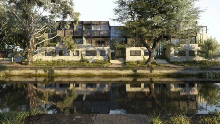 Casa-tres-pisos-Melbourne-exterior